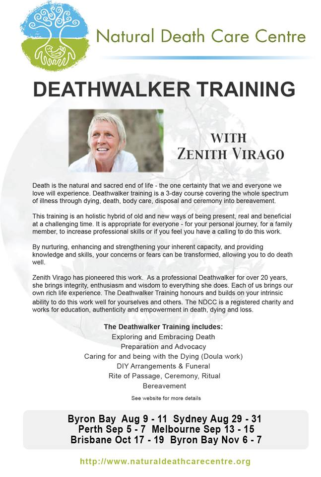 Deathwalker Training Dates 2014