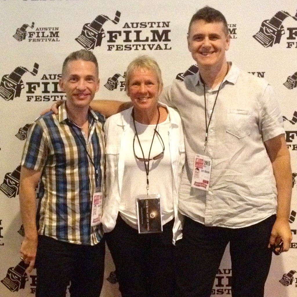 Director Broderick Fox, Deathwalker Zenith Virago, and Executive Producer Lee Biolos at the 2015 Austin Film Festival.