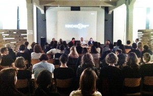 "Kino 43 ""Death is Not Taboo"" screening and panel in Prague, Czech Republic."