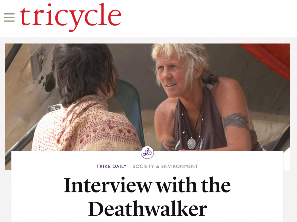 Zenith Virago interviewed in Tricycle